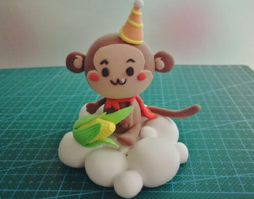 用粘土制作小猴子的步骤教程