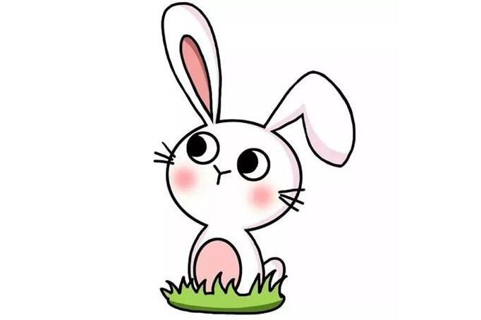 玉兔简笔画画法教程