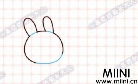 中秋节玉兔简笔画怎么画?中秋节玉兔简笔画教程