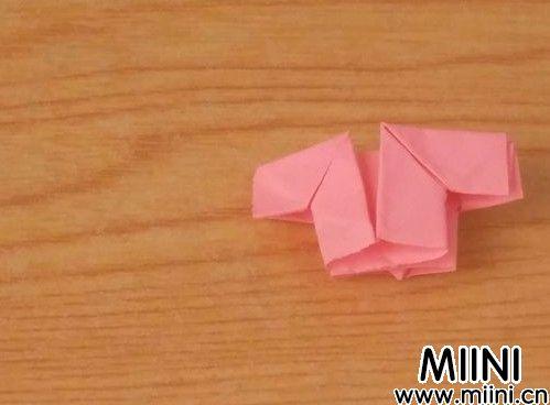 儿童简单漂亮的上衣折纸教程