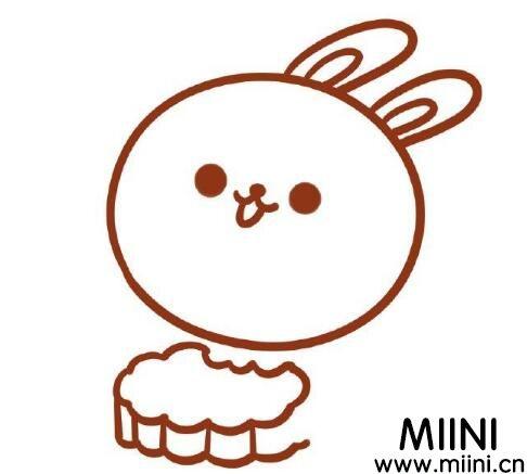 玉兔怎么画最简单漂亮?玉兔画画步骤教程