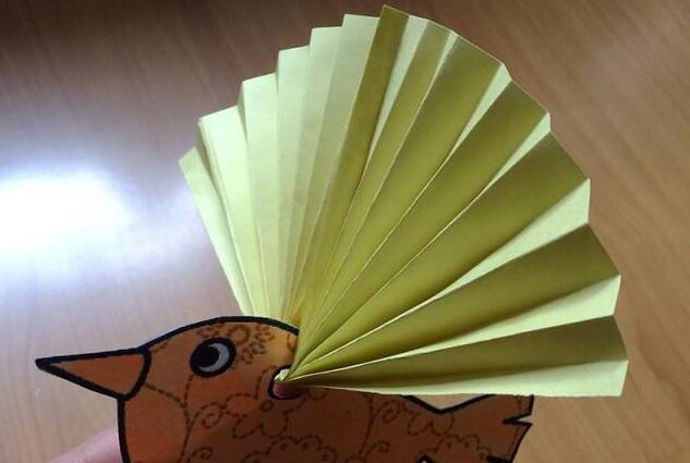 折纸教学有翅膀的小鸟制作步骤