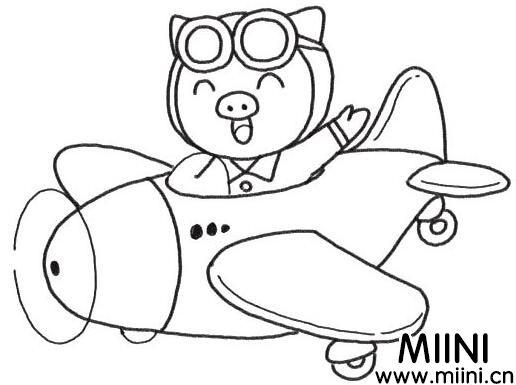 喜庆的小猪贺新年简笔画怎么画?小猪贺新年简笔画教程