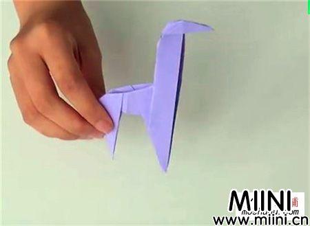 长颈鹿折纸教学图解