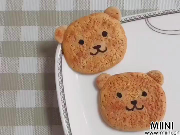 小熊粘土饼干的制作步骤