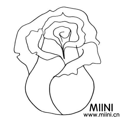漂亮的粉玫瑰怎么画?画粉玫瑰的步骤