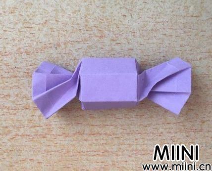 糖果的折纸制作步骤