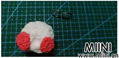 粘土玻尿酸鸭玩偶的制作教程