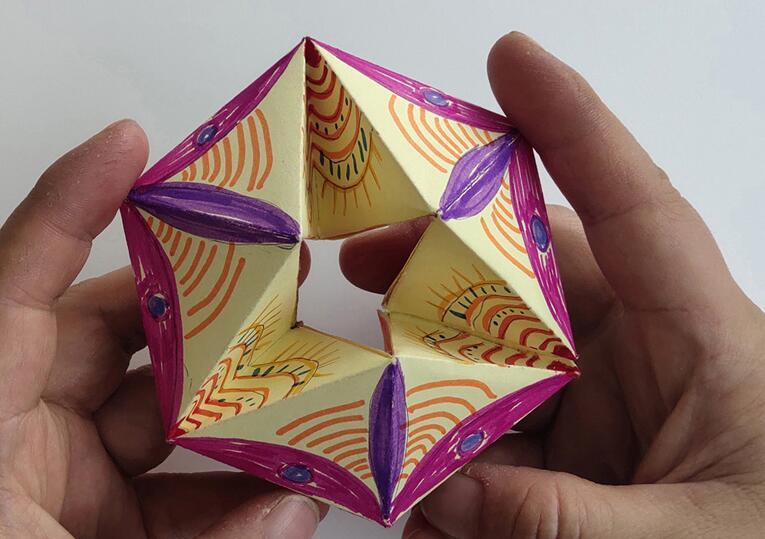 好玩的翻翻乐的折纸教程做法