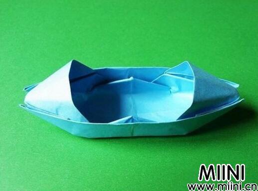 简单的小船折纸教程