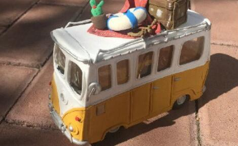 粘土巴士玩具车的制作教程