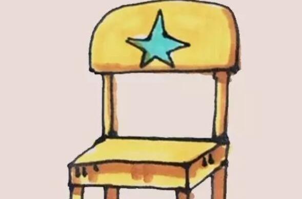 好看的椅子简笔画教程