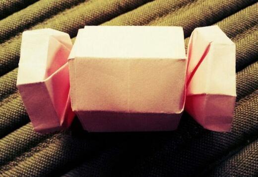 好吃的糖果折纸步骤教程