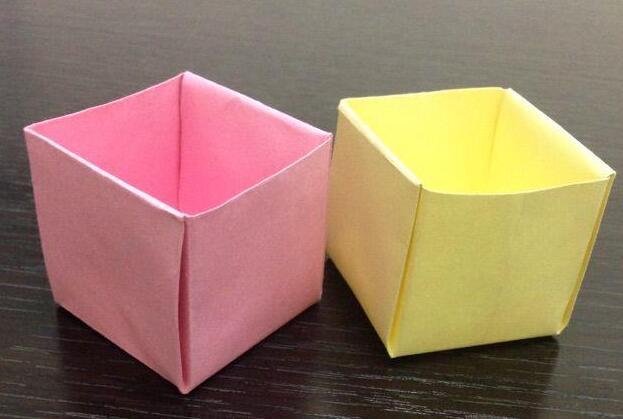 好看的小盒子折纸步骤教程