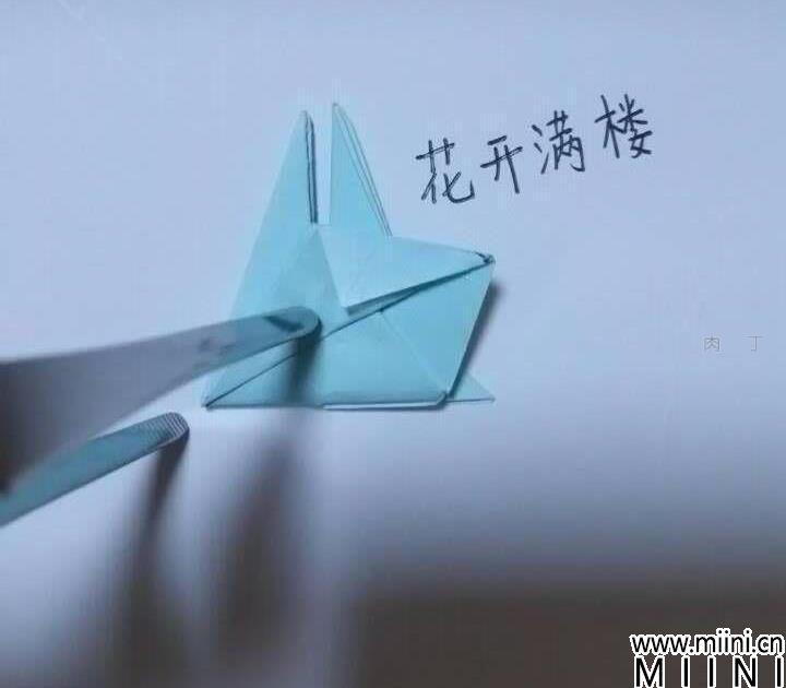 新脱俗花球折纸方法详细步骤图解