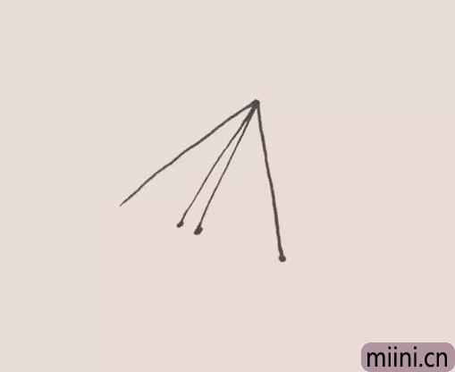 纸飞机简笔画