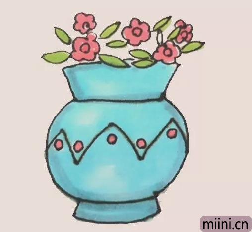 花瓶简笔画
