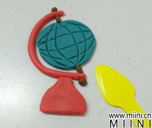 教你用粘土制作地球仪