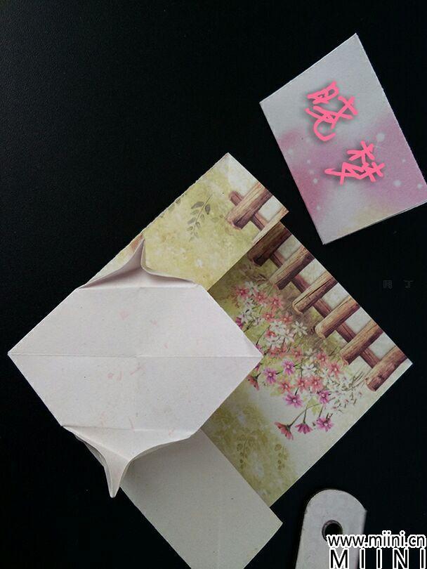 教你折纸可爱小猫的折法图解教程