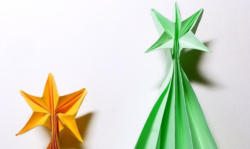流星折纸图解教程