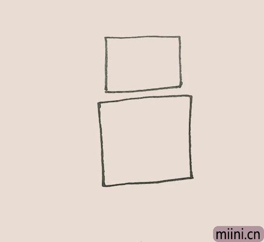 简笔<a href=http://www.miini.cn/hhds/ target=_blank class=infotextkey>画</a>之机器人