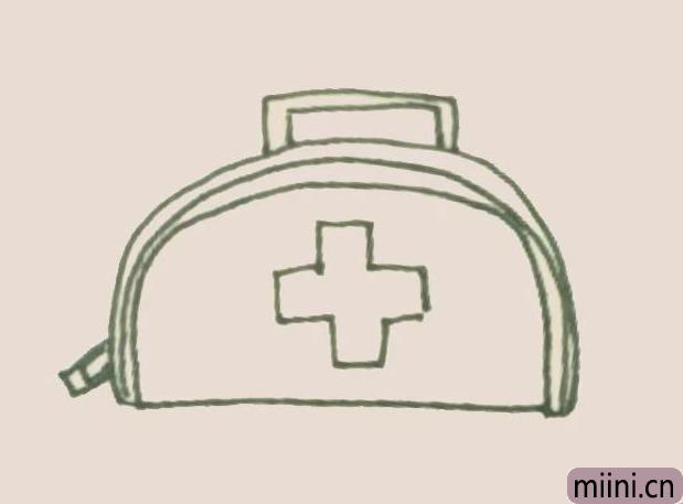 简笔画之医疗包