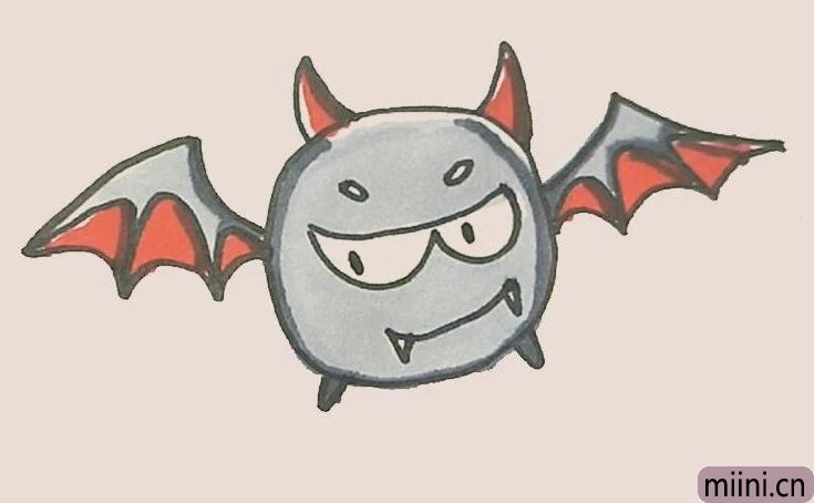 简笔画之小恶魔