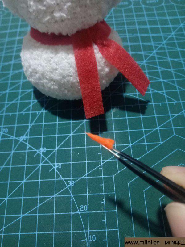 毛巾袜di圣诞雪宝宝 第27步