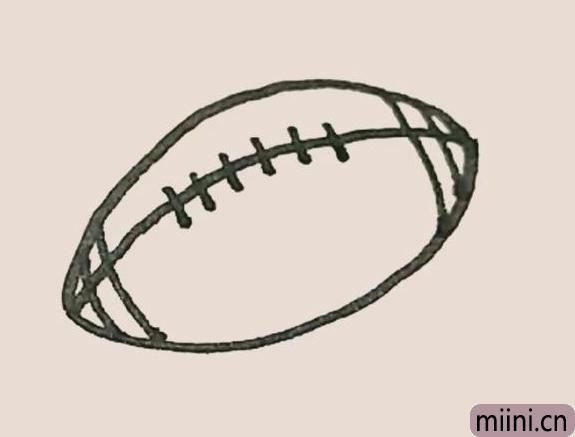 简笔画之橄榄球