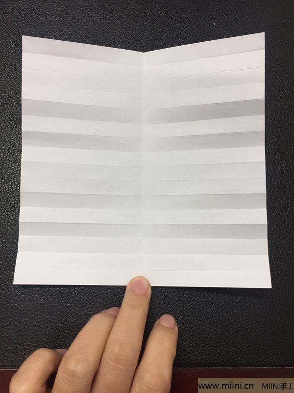 红掌花折纸教程 第7步