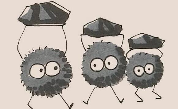 拟人煤炭简笔画步骤图解
