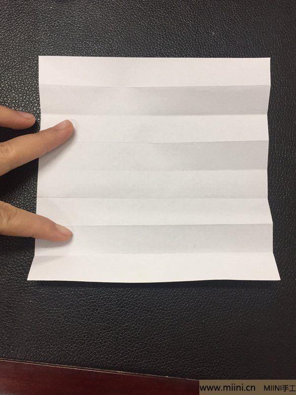红掌花折纸教程 第5步