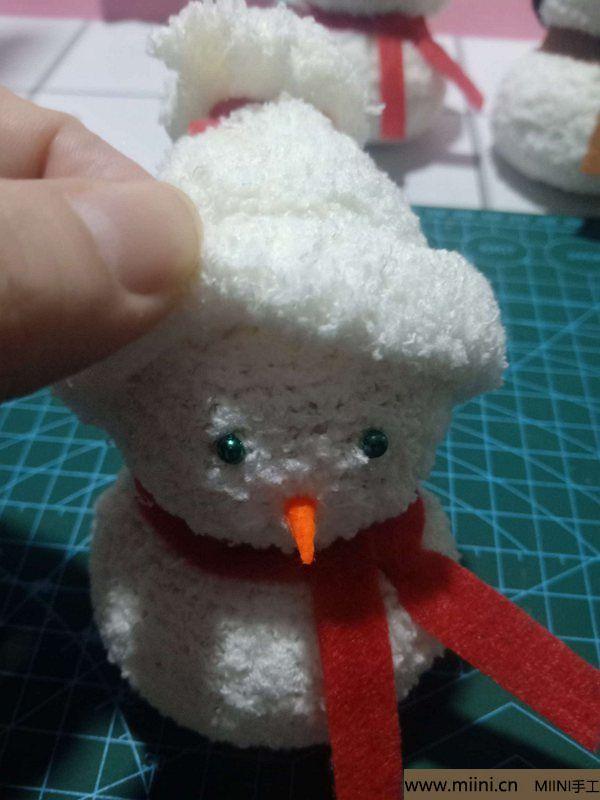 毛巾袜di圣诞雪宝宝 第29步