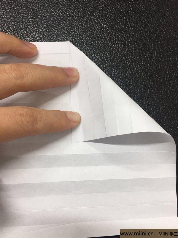 红掌花折纸教程 第11步