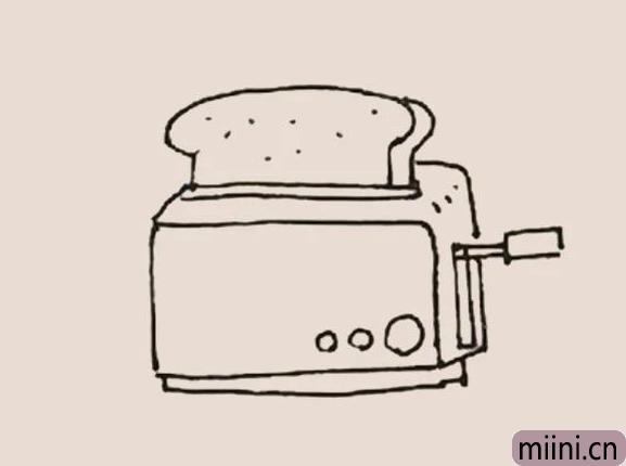 简笔画之面包机
