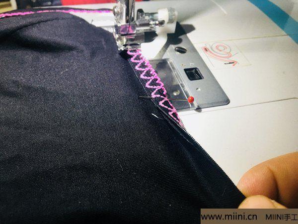 舒适漂亮的女生三角小裤裤 第13步