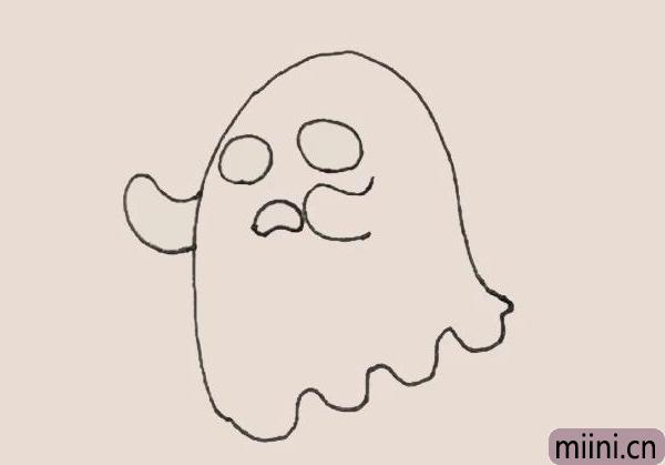 简笔画之幽灵
