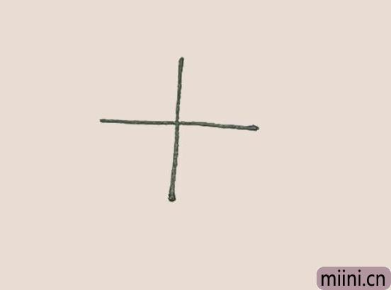 简笔<a href=http://www.miini.cn/hhds/ target=_blank class=infotextkey>画</a>之风车
