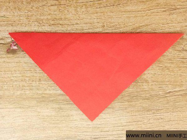 折叠剪纸 第2步