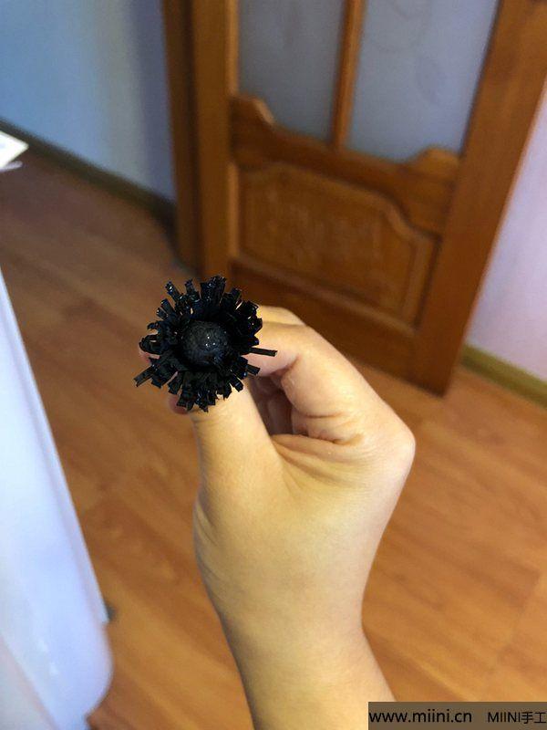 皱纹纸海葵花 第6步