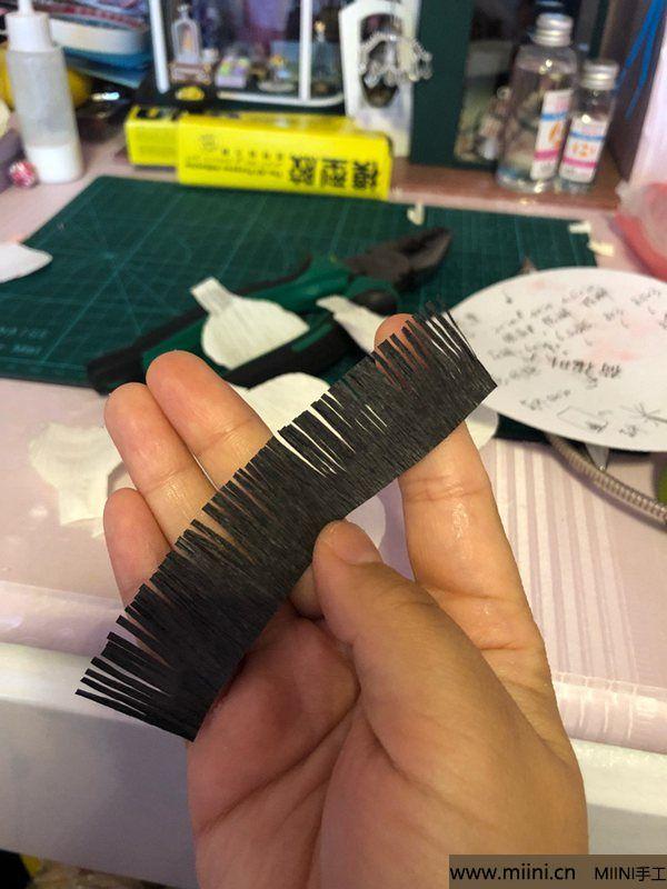 皱纹纸海葵花 第3步