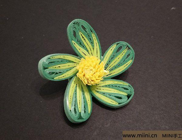 绿梅花朵 第6步