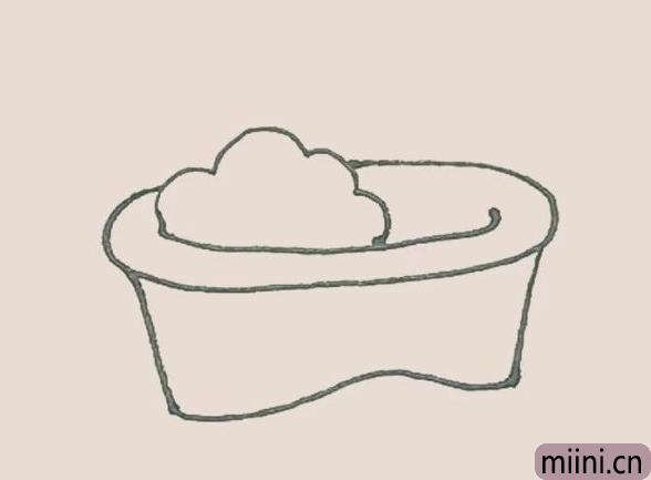 简笔画之浴缸