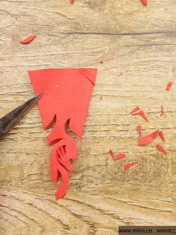 折叠剪纸 第8步