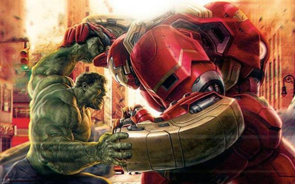 超霸气钢铁侠反浩克装甲纸模制作过程
