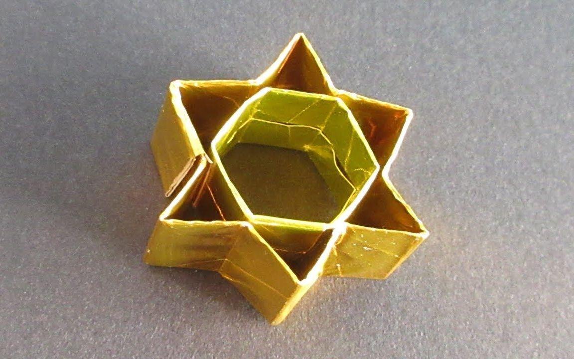 """闪闪发光的折纸六芒星,""""所罗门封印""""力量的象征"""