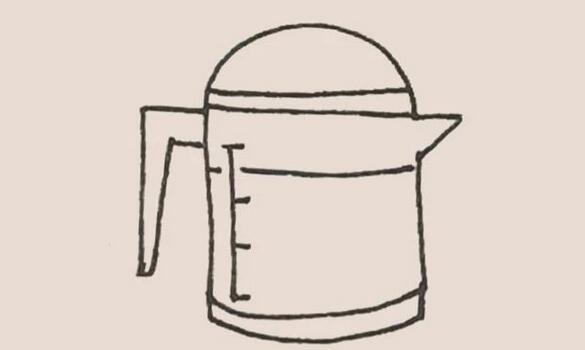 油壶简笔画步骤图解