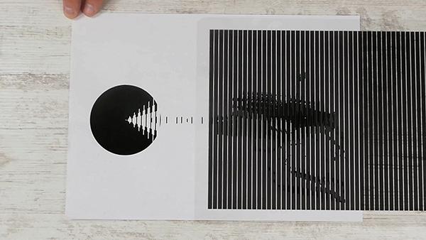 一张纸就能让图片动起来!手工创意真好