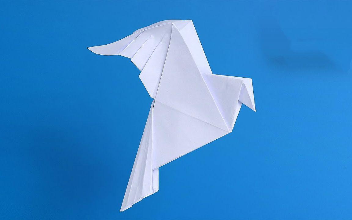 象征和平的折纸和平鸽