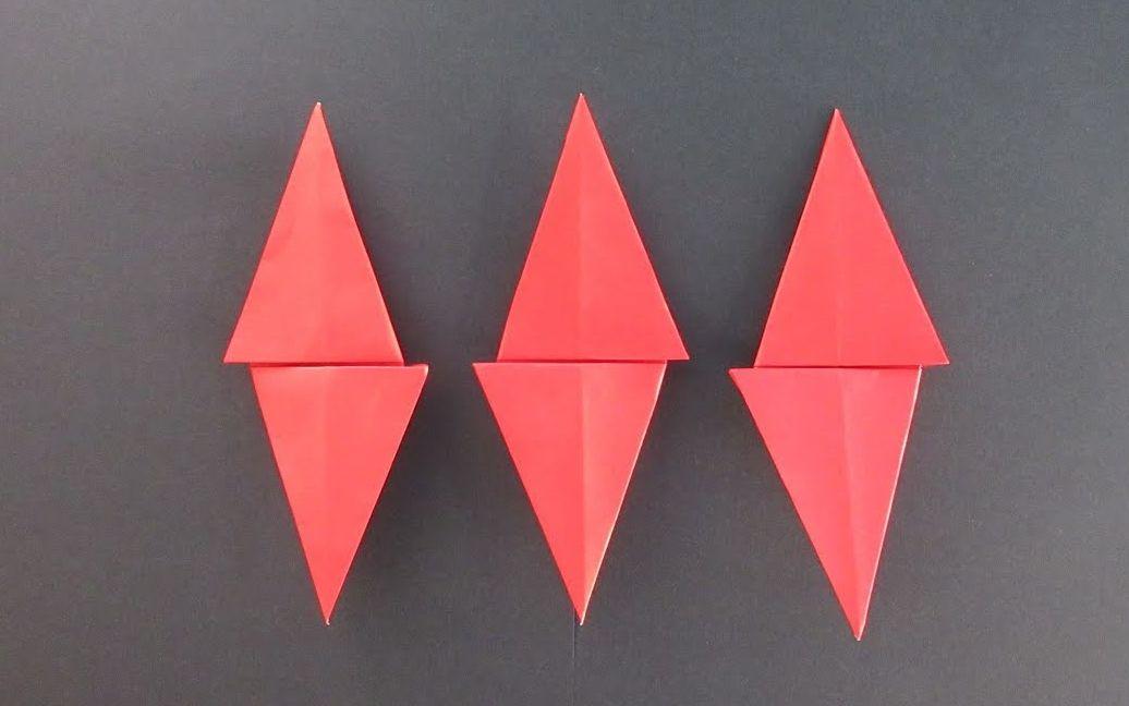 不整齐的折纸书签教程
